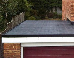 Rubber roof repairs and re-roofing